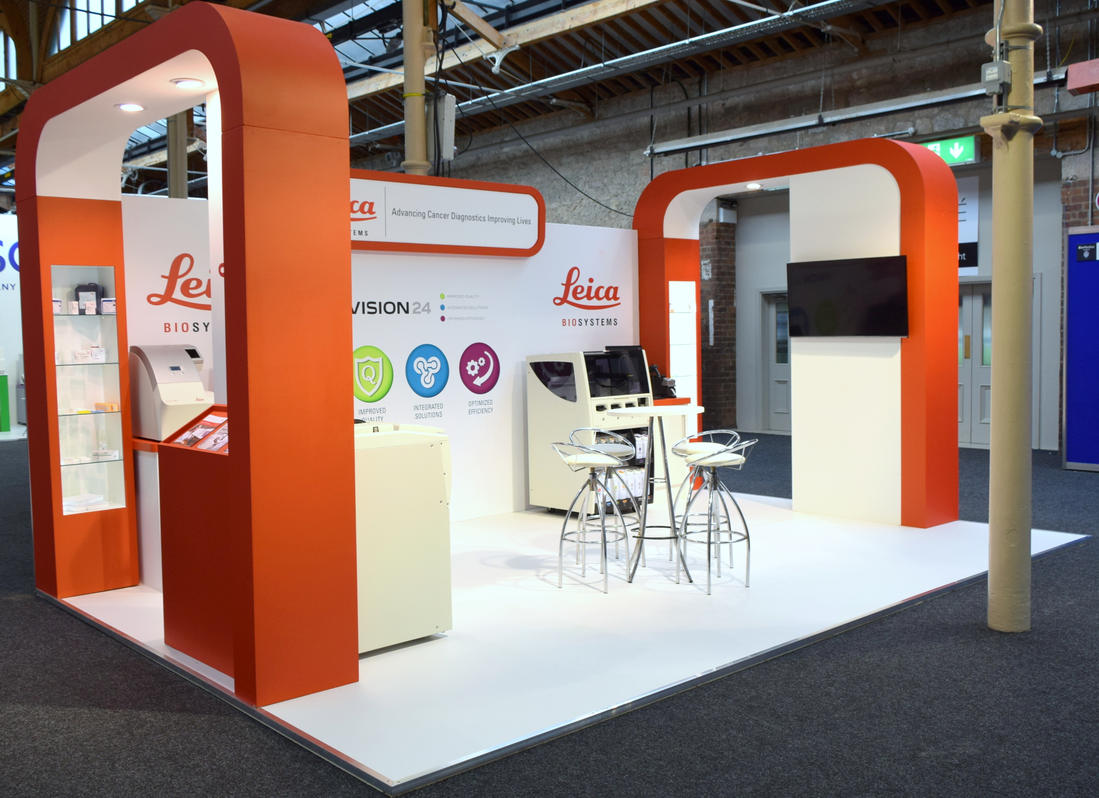 Exhibition Stand Builders Dublin : Bespoke stands ecs exhibition and conference services
